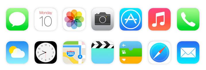 Colore e interfacce mobile: iOS 7, flat design