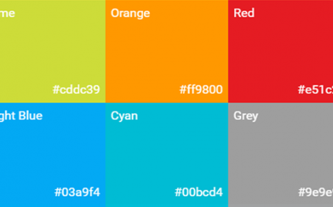 Colore e interfacce mobile: la tavolozza di Android Material design