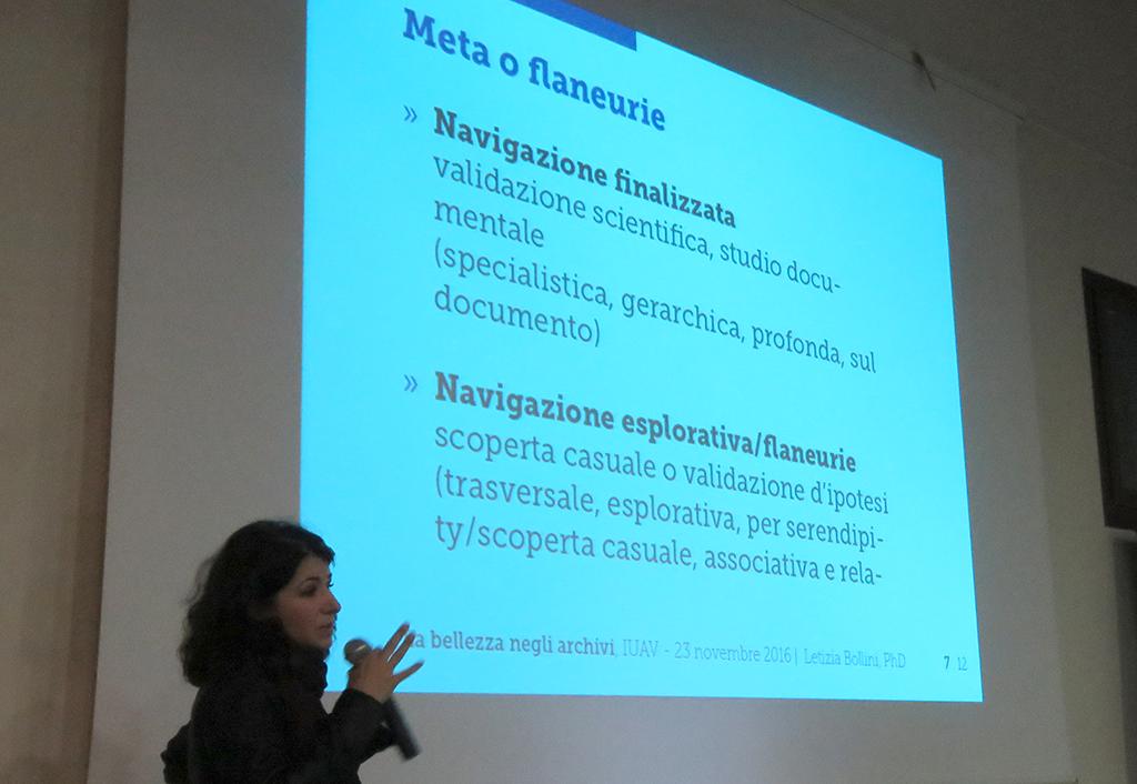 Letizai Bollini Ieri, oggi, domani. Le sfide del Cultural e Digital Heritage, IUAV Venezia