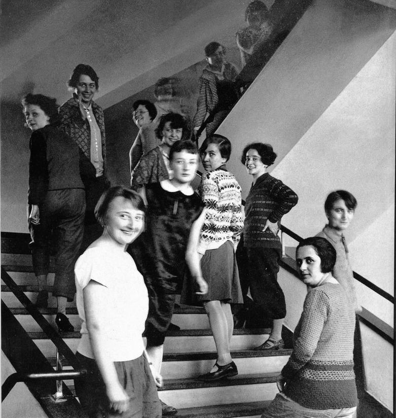 Immagine delle studentesse del Bauhaus