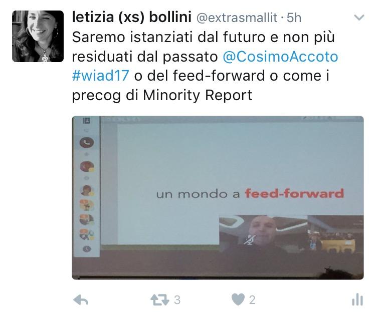 Cosimo Accoto al WIAD 2017 Verona-Trento