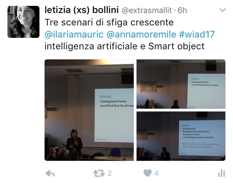 Ilaria Mauric e Anna Mormile al WIAD 2017 Verona-Trento