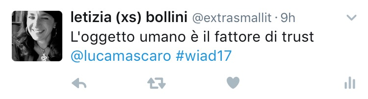 Luca Mascaro al WIAD 2017 Verona-Trento