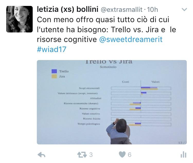Stefano Bussolon al WIAD 2017 Verona-Trento