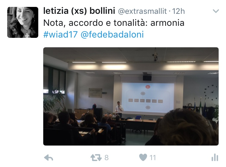 Federico Badaloni al WIAD 2017 Verona-Trento