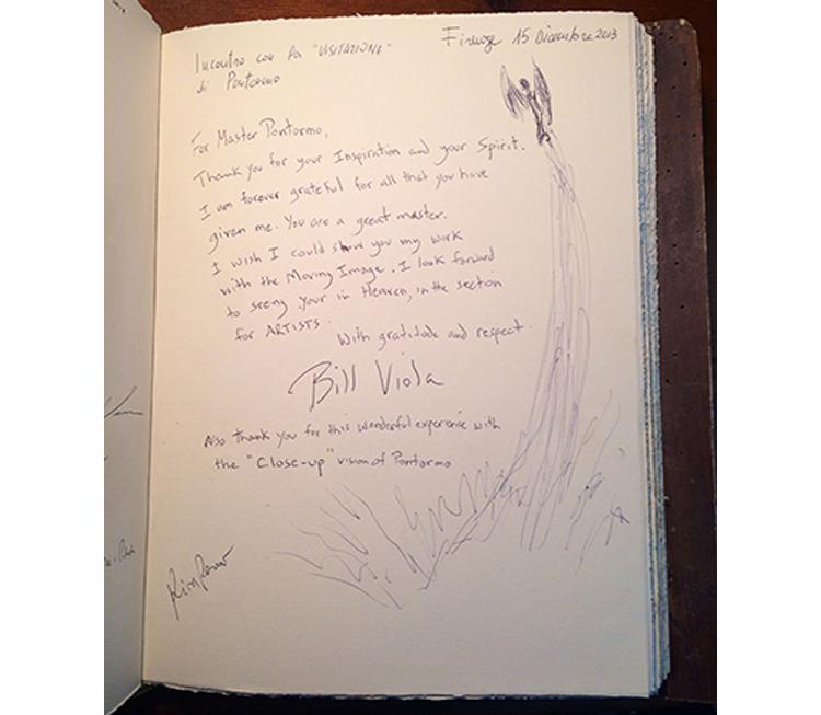 Bill Viola e Pontormo