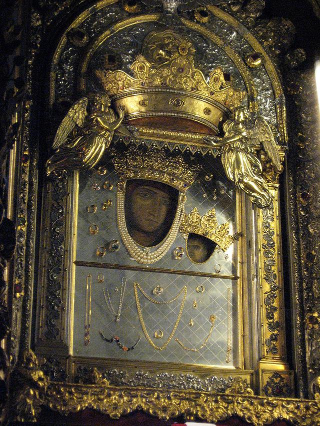 Icona bizantina: la Madonna Nera di San Luca