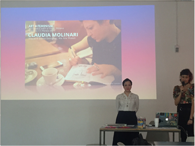 Claudia Molinari, visual e game designer: The art of tracing