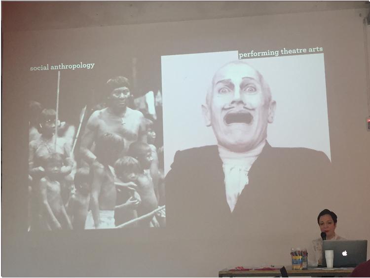 Claudia Molinari: dall'antropologia al teatro