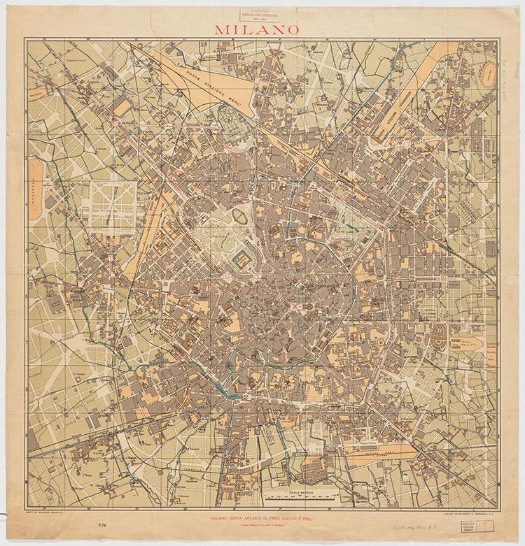 Mappa Artaria, 1910
