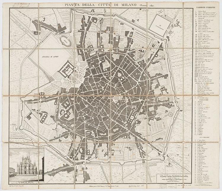 Mappa Artaria e Cagnoni, 1820