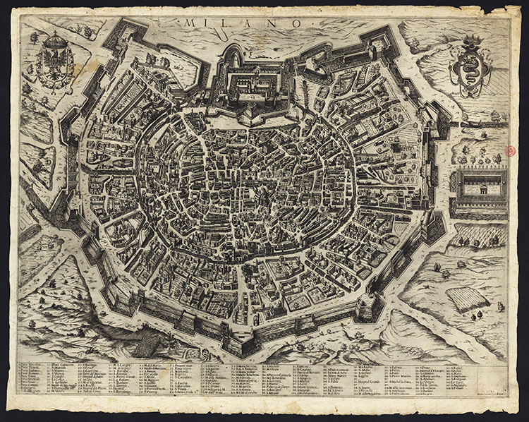 Mappa cartaro, 1581