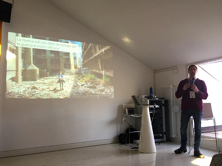 Massimo Zancanaro: La User eXperience per la co-narrazione dei conflitti