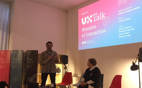 Ux Talk: Wonders of Interaction con Gillian Crampton Smith
