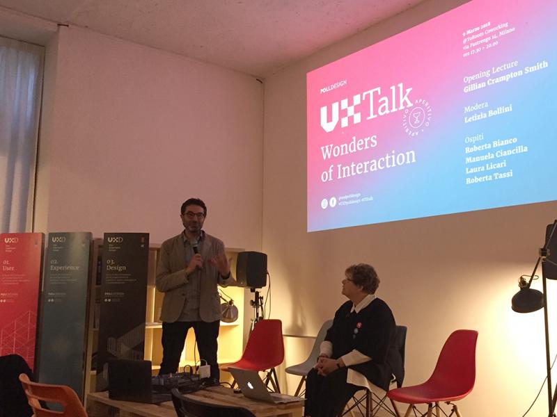 Ux Talk: Wonders of Interaction con Gillian Crampton Smith