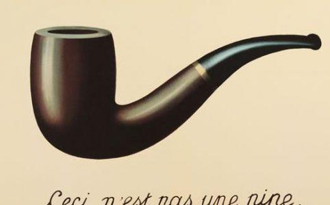 Rene Magritte, Il tradimento dell'immagine, 1928-29