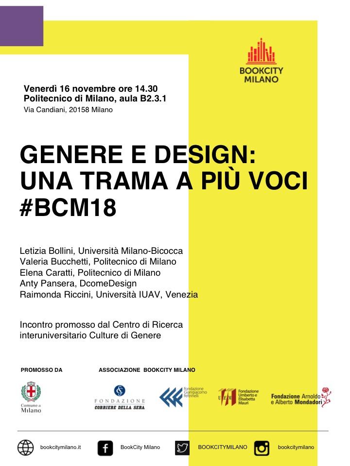 Genere e Design a Boocity Milano