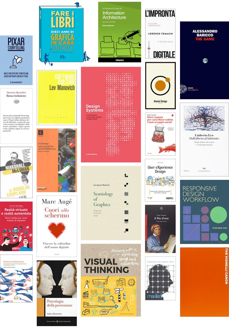 Letizia Bollini: Libri di comunicazione e digital design che ho letto nel 2018