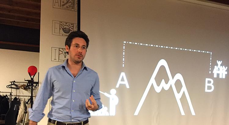 Progettare presentazioni: Lean presentation design: Maurizio La Cava all'Ux Book Club di Milano, aprile 2017