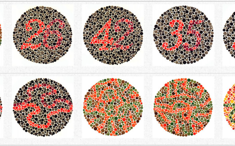 Colore e accessibilità: Ishihara Test for Colour Deficiency