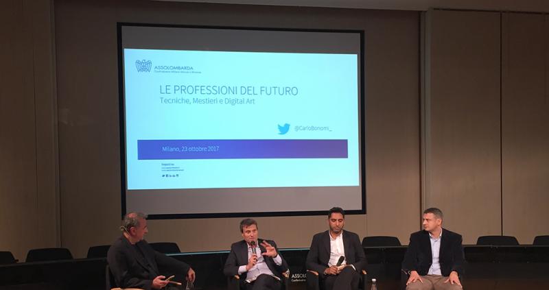Assolombarda confindustria Milano Monza e Brianza: le professioni del futuro. Tecniche, mestieri e digital art