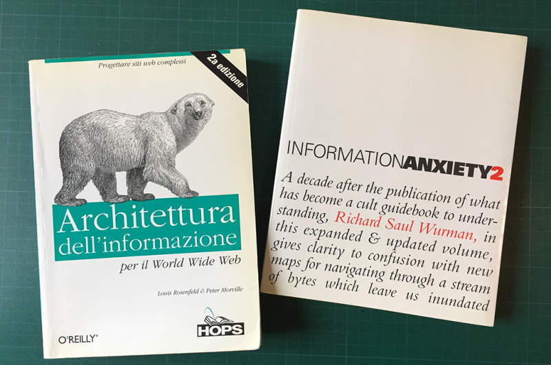 5 libri di architettura dell'informazione per prepararzi al WIAD di Trento 2018